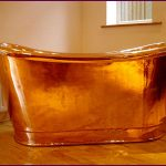 19th century double ended copper bath