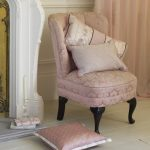 Delicate pink Monsoon Rosabel cushion