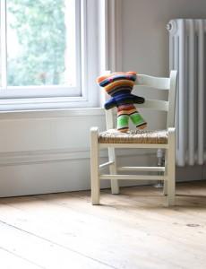 White chair for children