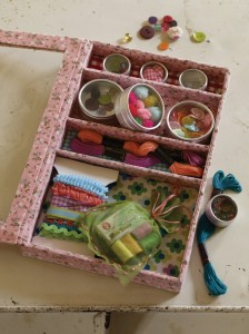 Plumo haberdashery crafty box