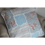 Patchwork shabby chic Provence cushion