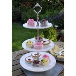 Large three tier cake stand