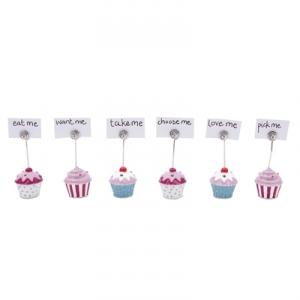 Cupcake place card settings