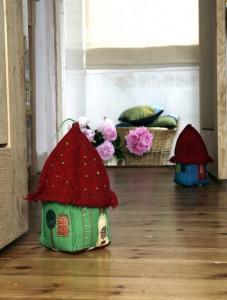 Handmade doorstop by Sarah Nicol