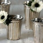 Bodie and Fou silver plated beaker