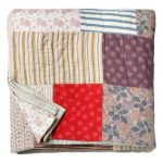 Toast patchwork quilt