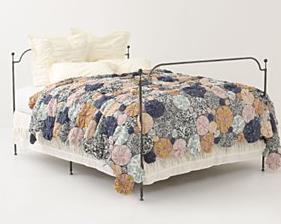 Patchwork garden quilt
