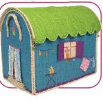 Child's caravan toybox at Pinks and Green