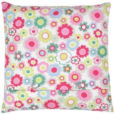 Cath Kidston Electric Flowers cushion