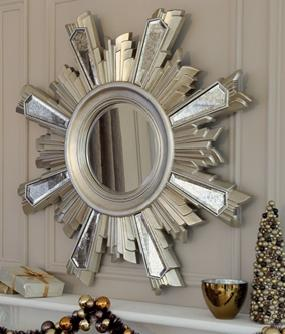 Statement star mirror
