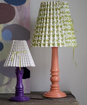 Mix and match lamps at Rie Elise Larsen