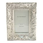 Ornate silver photo frame from Oliver Bonas