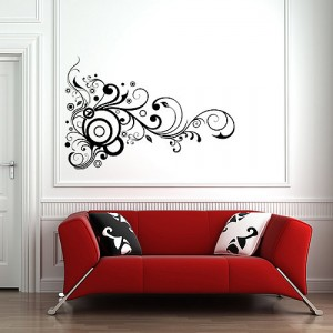 lush-swirl-wall-sticker