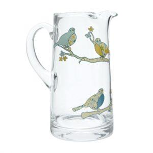 Trendy bird design jug