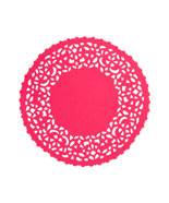 Donna Wilson pink doily place mat from Liberty