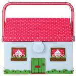 Cath Kidston house sewing basket box
