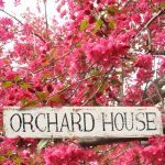 Personalised handmade house name sign