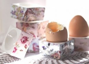 Unusual egg cups