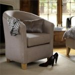 Victoria tub chair from Feather and Black