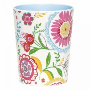 Floral melamine mug