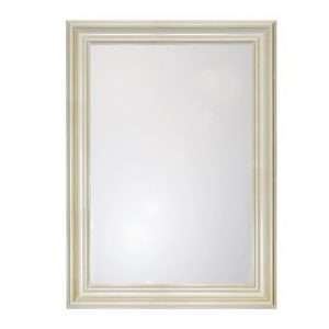Bargain price cream antique mirror