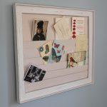 Hotel style framed letter rack