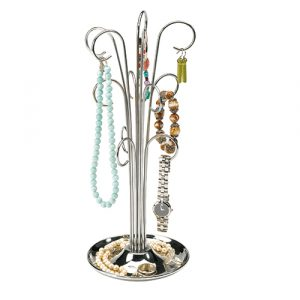 Umbra chrome jewellery tree
