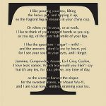 Carol Ann Duffy poetry tea towel