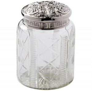 Stylish storage jar