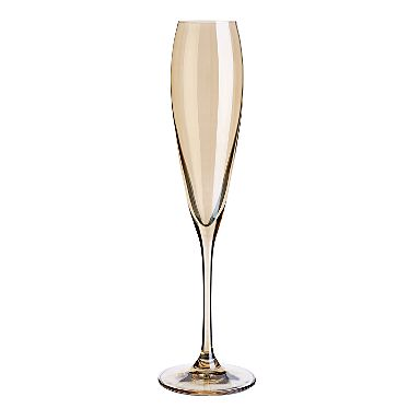 Gold champagne flute