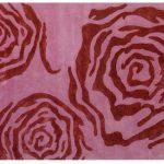 Pink rose rug from Mooch