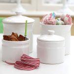 Half price ceramic storage jar