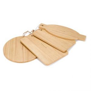 Four by four chopping board set