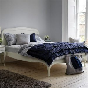 Imogen bedstead from Feather and Black
