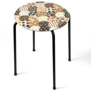 Limited edition quilts stool