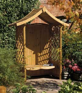 Create a special seat in your garden