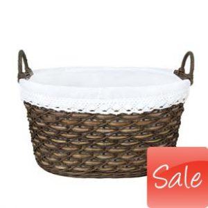 Bargain reduced price sale basket