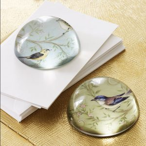 Bargain alert: Set of two bird paperweights