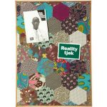 Patchwork pinboard notice board