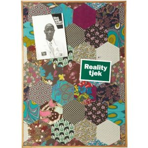 Patchwork notice board