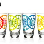 Sagaform juicy high ball glasses