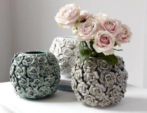 Ornate decorated vase