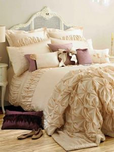 Designer bedding by Kylie