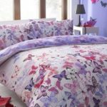 Beau butterfly bedding set