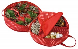 Get 50% off a Christmas decorations storage bag