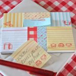Kitchen Notes set from Berry Red