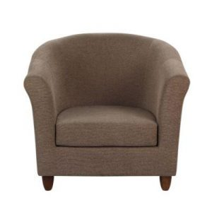 Rutland mocha tub chair