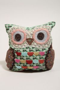 Fabric owl doorstop from Urban Outfitters