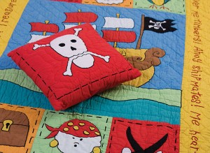 Create a pirate bedroom for your child