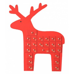 Cute christmas reindeer decoration